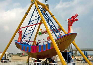 China 2000W Pirate Ship Ride Upside Down 360 Looping Pirate Ship For Theme Park supplier