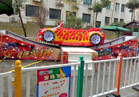Red Attractive Children'S Fairground Rides I - Beam Rail Material CE Approved