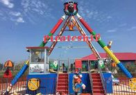 Safe Pirate Ship Amusement Park Ride Pirate Boat Ride 3.5m Height 12CBM Volume