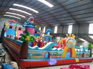 Children's playground equipment inflatable castle environmental protection PVC