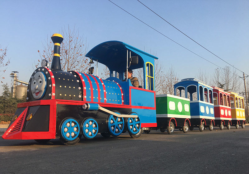 72 Seat Roundhouse Trackless Trains Kiddie Express Train Low