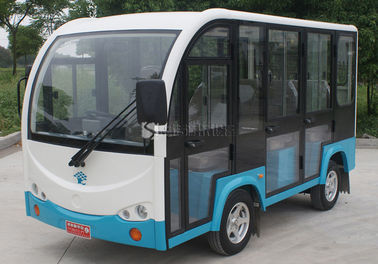 China 12 Seats Electric Tourist Car Electric Sightseeing Vehicle 30km / H Max Speed factory