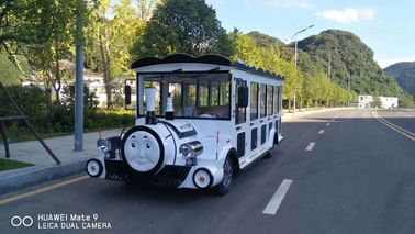 China Thomas Train Head  Cartoon  Electric Sightseeing  Car Size 5430*1600*2050mm  14 seats distributor