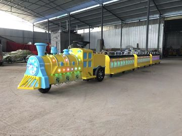 China electric trackless train Handsome toot Charging time8 hours  Bare machine size 200cm* 60cm * 90cm distributor