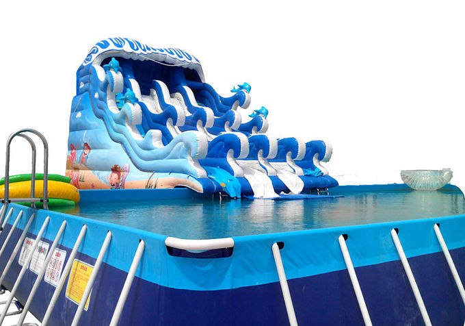 Children's playground equipment inflatable castle environmental Dolphin world